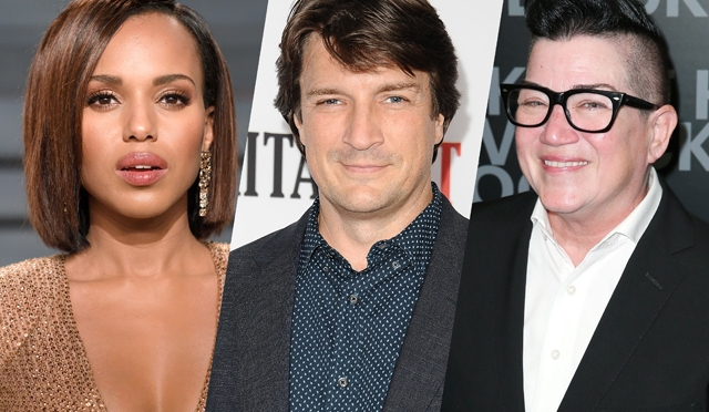Kerry Washington, Nathan Fillion and Lea DeLaria Join Cars 3