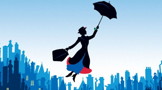 First Official Photo of Emily Blunt as Mary Poppins
