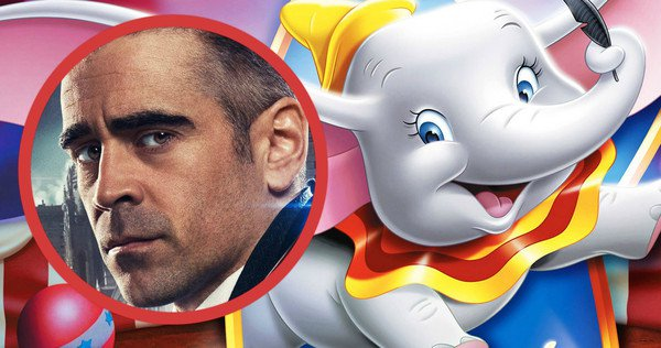 Colin Farrell In Talks to Join Dumbo