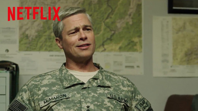 Trailer for Netflix's War Machine feat. Brad Pitt
