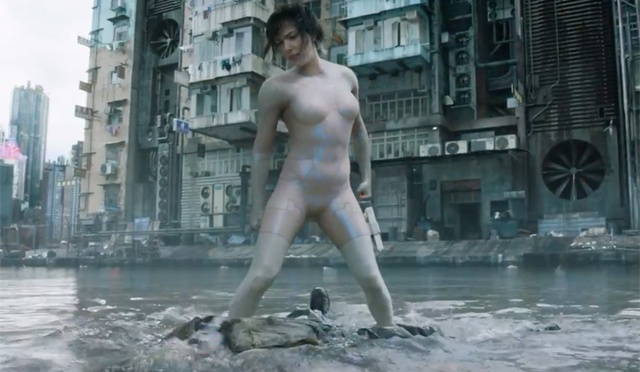 Check Out the Water Fight Sequence From Ghost In The Shell