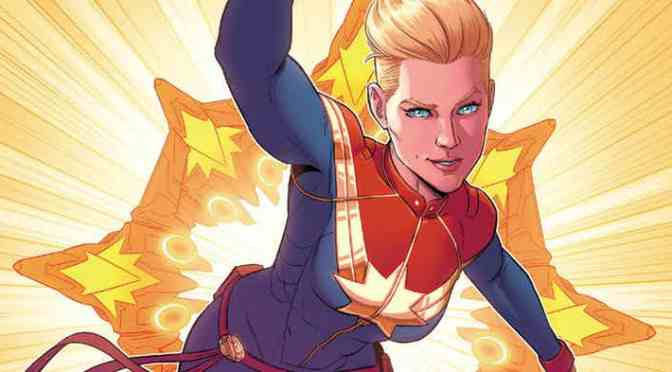 Marvel Names Captain Marvel Director and Unveils Concept Art