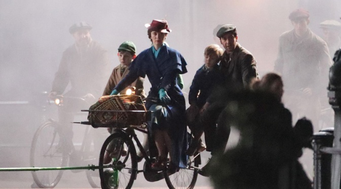 Set Photos from Mary Poppins Returns