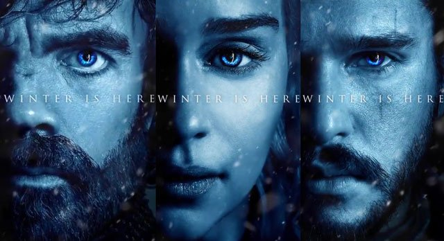 Game of Thrones Season 7 Trailer and Posters
