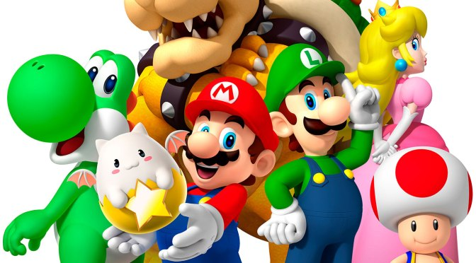 Animated Super Mario Bros. Movie On the Way from Illumination