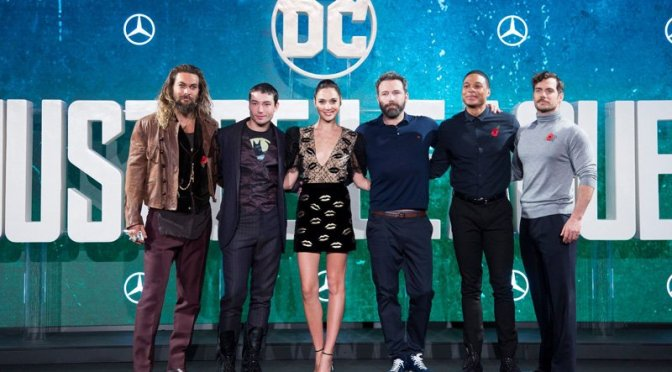 Check Out the London Press Conference for JUSTICE LEAGUE