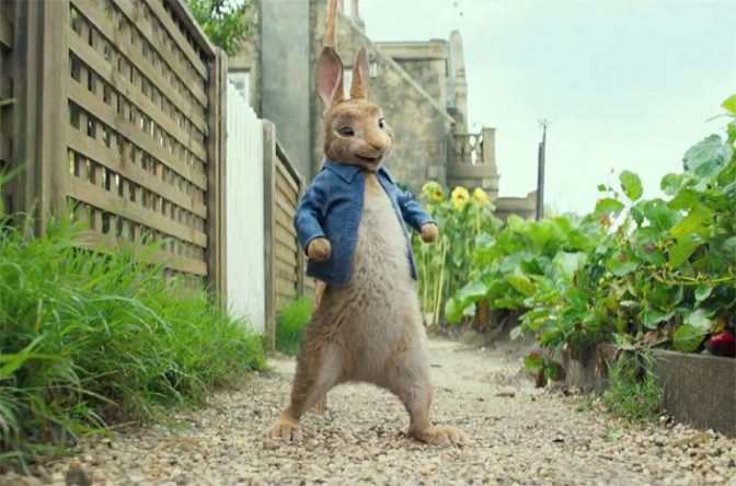 Trailer for Peter Rabbit