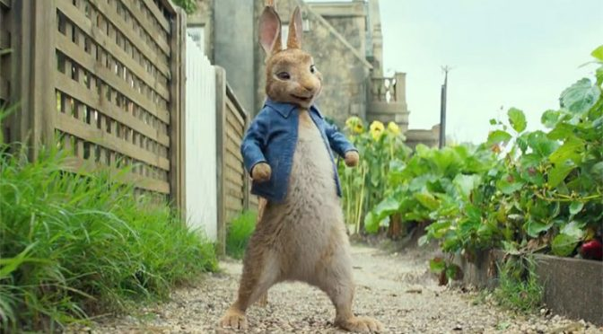 Trailer for Peter Rabbit
