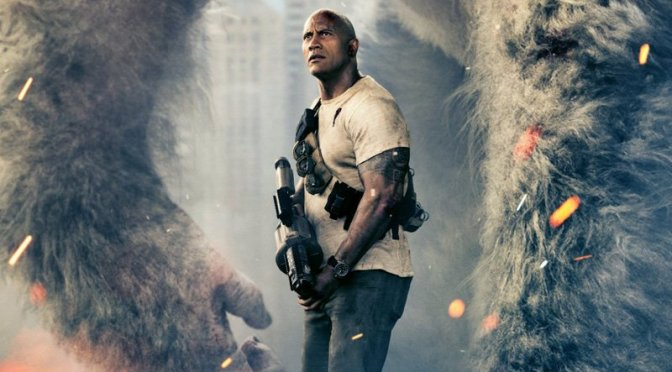 Trailer for RAMPAGE feat. Dwayne Johnson