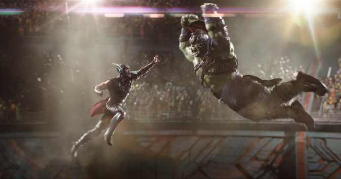 Extended Hulk vs Thor clip from Thor: Ragnarok