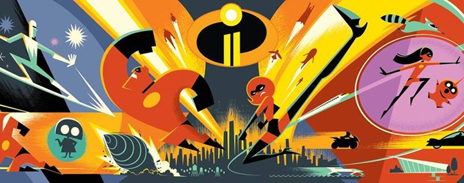 Pixar Reveals New Characters and Voice Actors for Incredibles 2