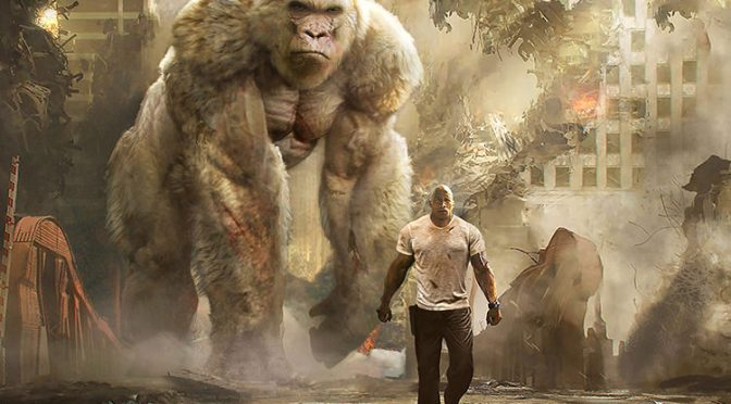 Promo for RAMPAGE feat. Dwayne Johnson