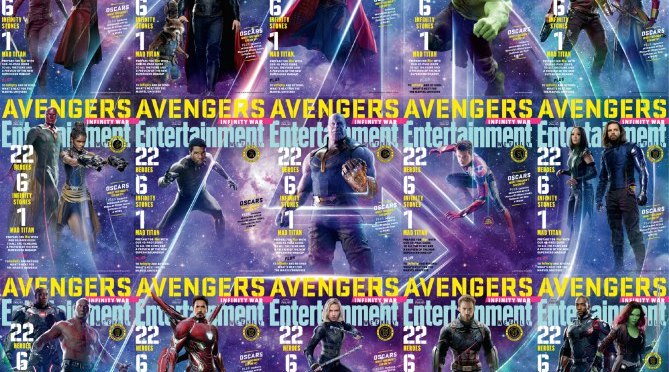 15 Avengers: Infinity War EW Covers