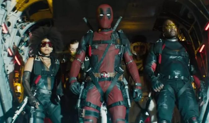 Trailer for Deadpool 2