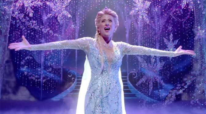 Trailer and Photos for FROZEN The Musical