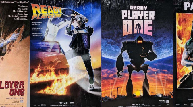 Ready Player One Recreate Classic Movie Posters