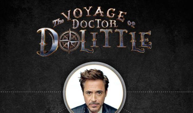 Robert Downey Jr.  Reveals Cast for Doctor Dolittle