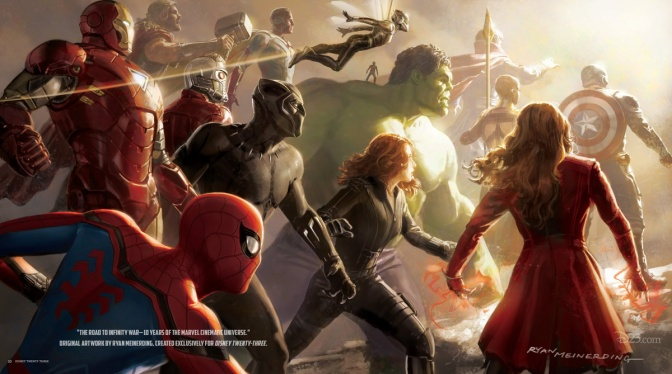 Avengers Infinity War – 22 Character Posters Revealed