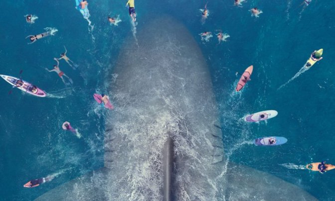 Trailer for THE MEG feat. Jason Statham