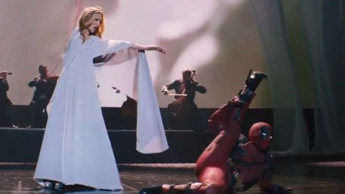 The Celine Dion / Deadpool Music Video You Didn't Know You Needed