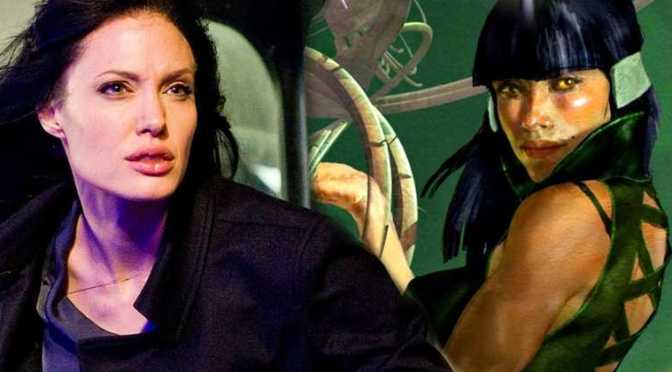 Angelina Jolie in Talks to Join Marvel's Eternals Movie